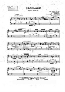 Starland, Op.282: Starland by Frank Hoyt Losey