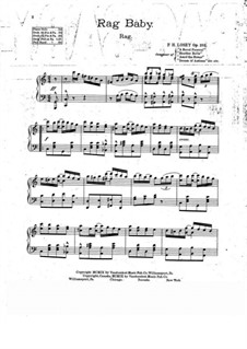 Rag Baby, Op.283: Rag Baby by Frank Hoyt Losey