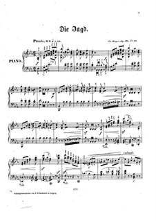 Jugendblüten, Op.121: Nr.20 Die Jagd by Charles Mayer