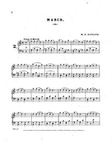 Marsch für Klavier: Marsch für Klavier by Henry Maylath