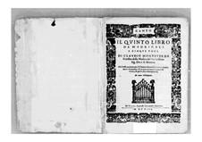 Heft 5 (für fünf Stimmen), SV 94–106: Vollsammlung – Stimmen by Claudio Monteverdi