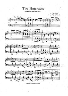 Hurricane, for Piano: Hurricane, for Piano by Saul L. Alpert