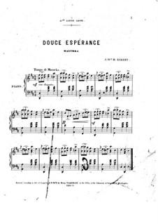 Douce espérance: Douce espérance by J. W. H. Eckert