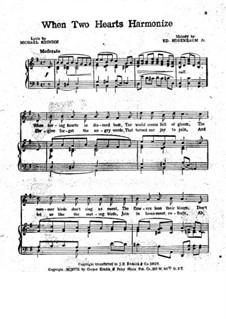 When Two Hearts Harmonize: When Two Hearts Harmonize by Ed. Rosenbaum