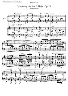 Vollständiger Sinfonie: Version für Klavier by Ludwig van Beethoven