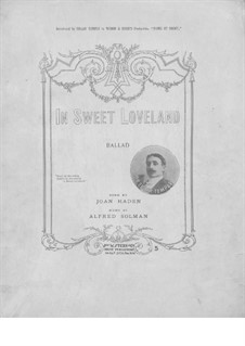 In Sweet Loveland: In Sweet Loveland by Alfred Solman