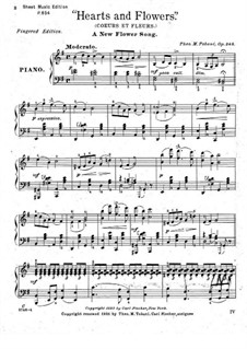 Hearts and Flowers, Op.245: In G-Dur by Theodore Moses Tobani