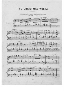 The Christmas Waltz: The Christmas Waltz by Unknown (works before 1850)
