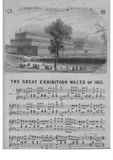 The Great Exhibition Waltz of 1851: The Great Exhibition Waltz of 1851 by Unknown (works before 1850)