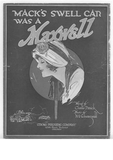Mack's Swell Car Was a Maxwell: Mack's Swell Car Was a Maxwell by M. E. Schwartzwald