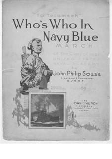 Who's Who in Navy Blue: Who's Who in Navy Blue by John Philip Sousa