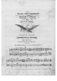 Major Jack Downing's: Major Jack Downing's by Unknown (works before 1850)