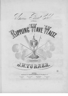 Rippling Wave Waltz: Rippling Wave Waltz by Joseph W. Turner