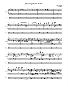 A Minor Fugue: A Minor Fugue by Vince Peterson