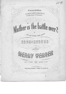 Mother is the Battle Over: Mother is the Battle Over by Unknown (works before 1850)