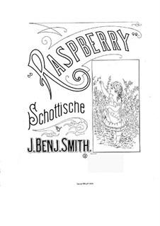 Raspberry Schottische: Raspberry Schottische by J. Benjamin Smith