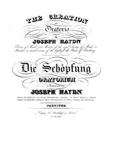 Die Schöpfung, Hob.XXI/2: Vollpartitur by Joseph Haydn