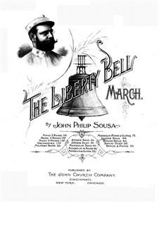 The Liberty Bell: Für Gitarre by John Philip Sousa