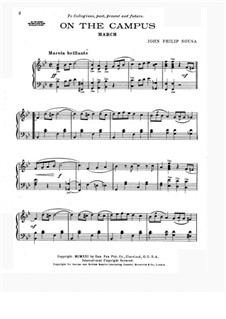 On the Campus: On the Campus by John Philip Sousa