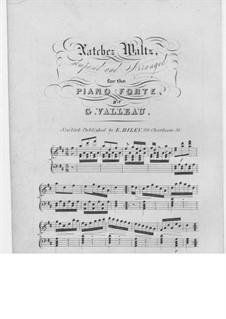 Natchez Waltz: Natchez Waltz by G. Valleau