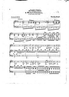 A Mother's Consolation, Op.124: A Mother's Consolation by P. H. Van Der Weyde