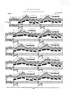 Le ruisseau, Op.136: Le ruisseau by Moritz Strakosch