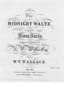 Midnight Waltz: Midnight Waltz by William Vincent Wallace
