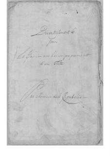 Divertissement für Flöte und Cembalo Nr.6: Divertissement für Flöte und Cembalo Nr.6 by Simoni dall Croubelis