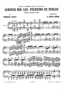Scherzo: Scherzo by Georges Bizet