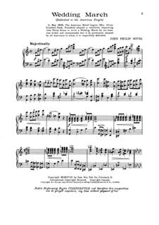 Hochzeitsmarsch: Hochzeitsmarsch by John Philip Sousa
