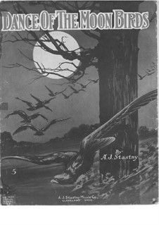 Dance of the Moon Birds: Dance of the Moon Birds by A. J. Stasny