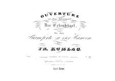 Elverhøj (Der Elfenhügel). Ouvertüre, Op.100: Für Klavier, vierhändig by Friedrich Kuhlau