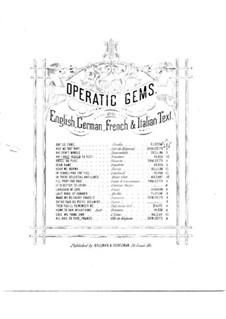 Ah! Che la morte ognora: Für Stimme und Klavier by Giuseppe Verdi