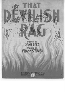 That Devilish Rag: That Devilish Rag by Frank Stilwell