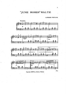 June Roses Waltz: June Roses Waltz by Kathleen Whitlock