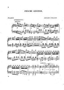 Fesche geister: Fesche geister by Eduard Strauss