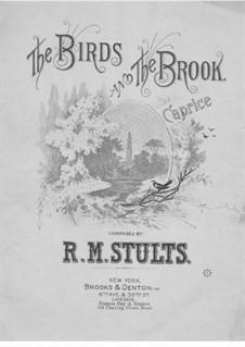 The Birds and the Brook: The Birds and the Brook by Robert Morrison Stults