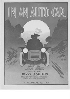 In an Auto Car: In an Auto Car by Harry O. Sutton