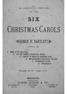 Sing, o Ye Heavens: Sing, o Ye Heavens by Homer Newton Bartlett