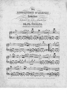 Romanze für Klavier: Romanze für Klavier by Charles Ph. Winkler