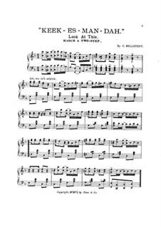 Keek-es-man-dah (Look at This): Keek-es-man-dah (Look at This) by C. Bellstedt