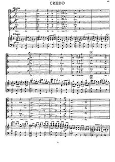 Messe Nr.3 in f-Moll, WAB 28: Teile III-VI by Anton Bruckner