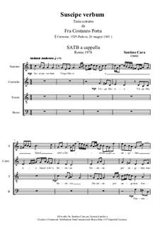 Suscipe verbum, CS001 No.2: Suscipe verbum by Santino Cara