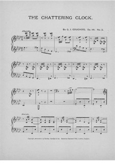 The Chattering Clock, Op.98 No.2: The Chattering Clock by G. J. Couchois