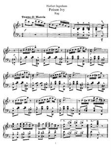 Poison Ivy: Für Klavier by Herbert Ingraham