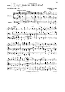 Marche Solennelle, Op.20 No.3: Marche Solennelle by Joseph Callaerts