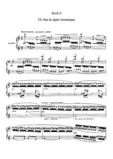 Etüden, L.136: Nr.7 Pour les degrés chromatiques by Claude Debussy