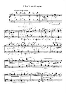 Etüden, L.136: Nr.10 Pour les sonorités opposées by Claude Debussy