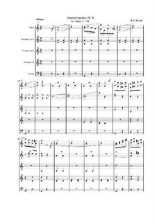 Divertissement in C-Dur, K.188: Teil II by Wolfgang Amadeus Mozart