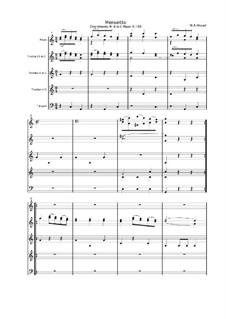 Divertissement in C-Dur, K.188: Teil III by Wolfgang Amadeus Mozart